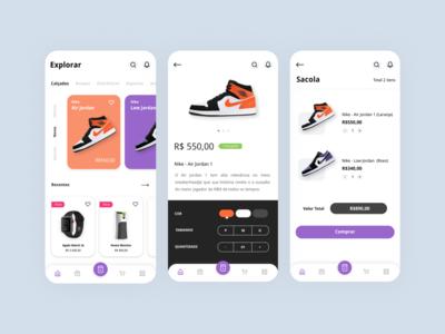 Market Place App - Concept