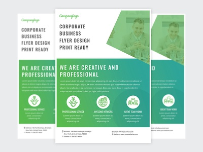 Corporate Business Flyer Free PSD best flyer design print ready flyer free flyer poster design corporate flyer flyer photoshop flyer design