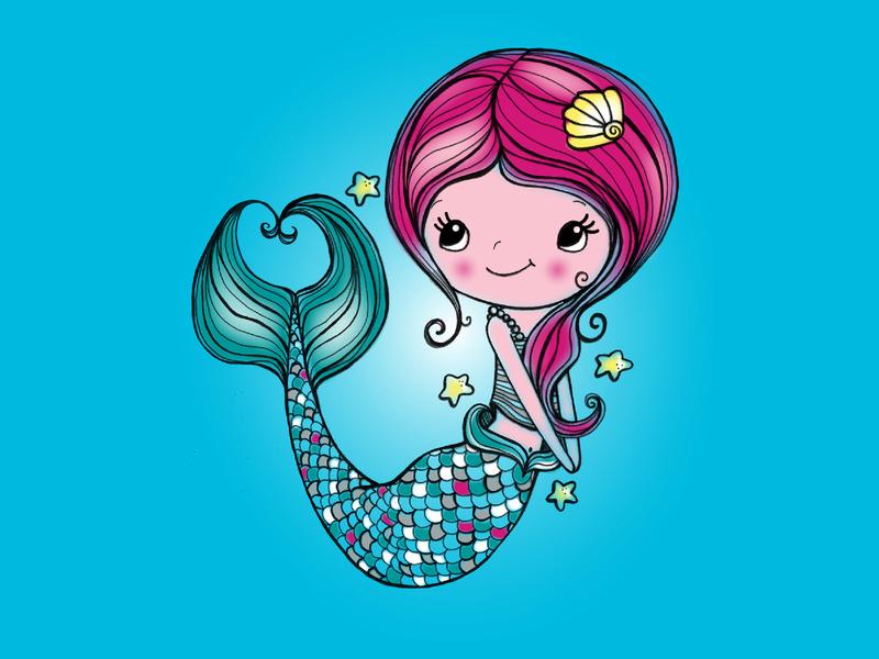 Mermaid illustration design graphic art photoshop apparel design digitalillustration illustration design