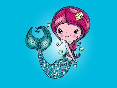 Mermaid illustration design graphic art photoshop apparel design digitalillustration illustration design