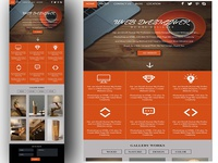 Web Page Orange!!! Front End