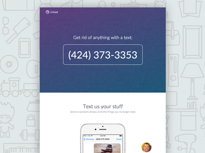 Unload - Get rid of your stuff with just a text