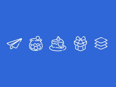 Ecommerce Programs Icon Set