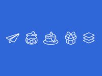 Ecommerce Programs Icon Set
