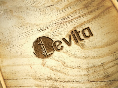 Levita logo design vector design branding shot graphic design organic eco friendly milimastic logo typography logo design logodesign logo