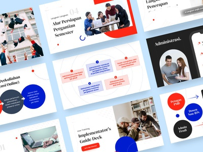 Introduction to User Guide of our product / Presentation Designs figma slide design ui design layouts presentations pitch deck design screen