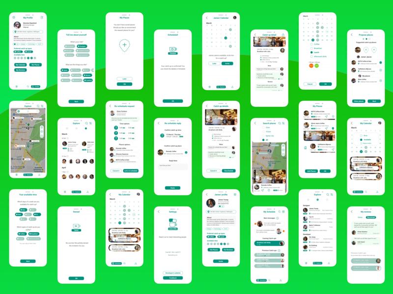 Finally done the 1st version of Lonely Coffee design! ui design graphic  design interaction design app design uidesign beartalk
