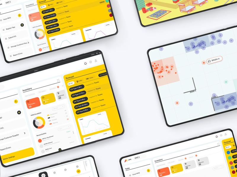 Dashboards industrial design app design ui ux design