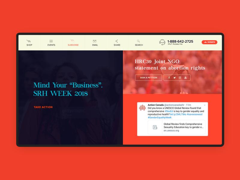 Homepage design fold-4