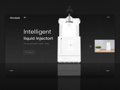 Intelligent liquid injector