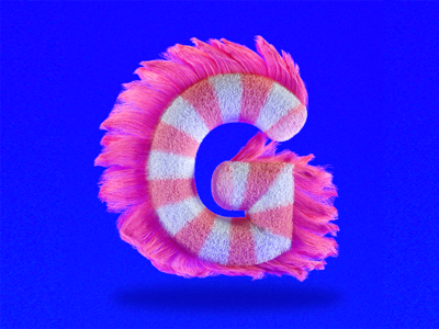 C4D daily practice - NUMBER