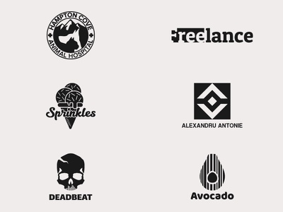Thirty Logos Challenge, Day 18-24 symbol icon wordmark thirtylogos logotype logo designer logos logo design logo identity branding brand