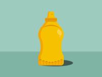 Inktober- Day 17- Mustard