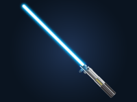 Luke Skywalker's Lightsaber