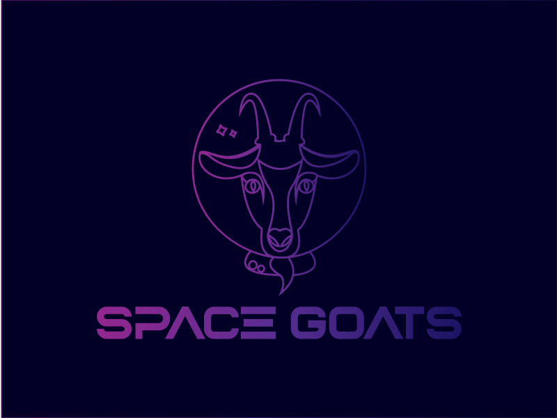 Space Goats logo idea by Andi Antal on Dribbble