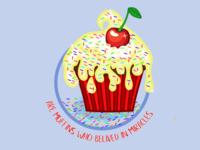 Cupcake T-shirt design