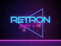 Club Retro Logo Vector