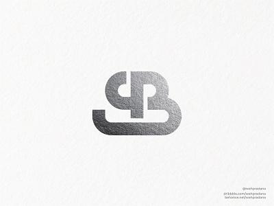 SB Monogram | Logo drawing type monoline logo monoline lettermarklogo sb silver lettermark letters monogram icon artwork logo design illustration logo vector logodaily graphic deisgn creative branding