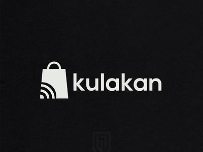 Kulakan Logo | Logo bag logo design typography shop logo networking icon logo design deigner badge logodaily vector graphc graphicdesign graphic  design illustration graphic deisgn creative branding artwork logo