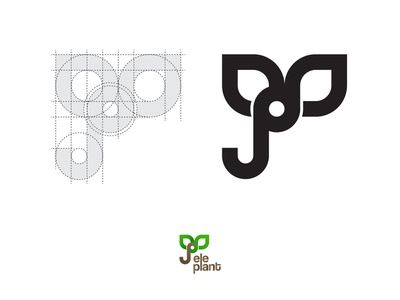 Elephant | Logo Construction logo illustration logos elephant illustration typogaphy illustraion logotype elephant plant plant logo elephant logo icon logo logo design logodaily vector graphic deisgn graphc creative branding artwork