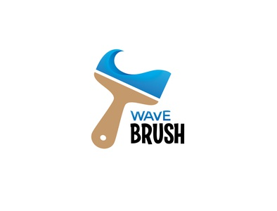 Wave Brush Logo