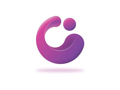 C for Cycle | Logo clean color visual design graphicdesign gradient circle logo circle purple symbol lettermark deigner graphc badge illustration logo design vector logodaily graphic deisgn creative branding