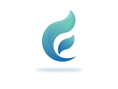 F | Logo lettermark f logo identity visual art graphic design brand green blue gradient graphic  design vector logo illustration icon logo design logodaily graphic deisgn creative branding
