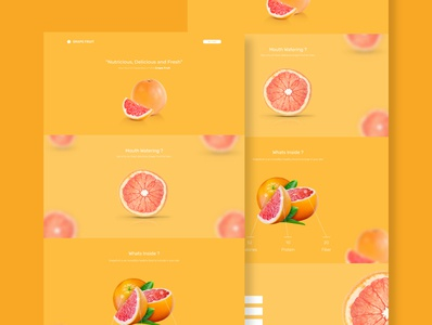 Grape Fruit - Web Page
