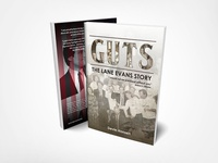 Book Cover - Lane Evans Story