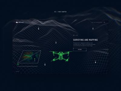 UAVs website concept #2