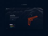UAVs website concept #3