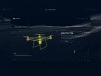 UAVs website concept #4
