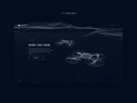 UAVs website concept #5