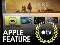 3via Apple TV App got Featured