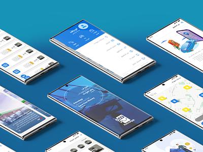 PetroApp UI/UX userinterface userexperience interface petroapp fuelapp uiux app design ui