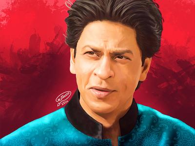 Shah Rukh Khan | Digital Painting