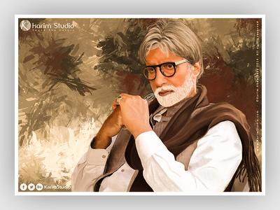 Amitabh Bachchan | Digital Painting