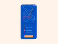 Daily UI 20 / Location tracker