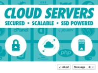 Cloud Servers Facebook Cover