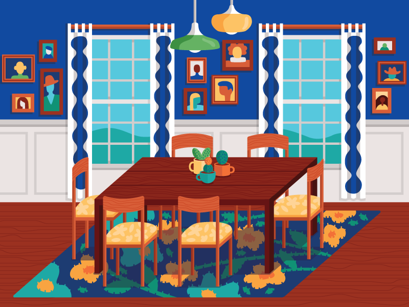 Dream dining dribbble
