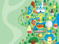 Disney World Food Map