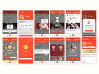 Tutorial and deposit screens for Eristica app