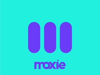 Do you have the moxie...? typography branding identity design logo