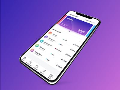 Ipad Pro Copy 5 ios uxdesign uidesign credit card app design fintech