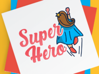 Be Your Own Super Hero Project - Brand Identity