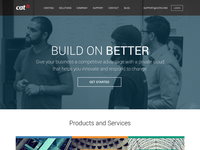 CatN - Build On Better homepage