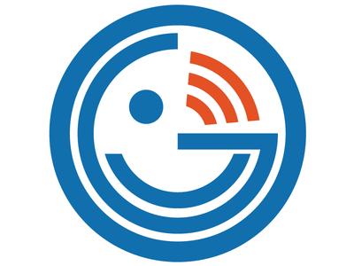 oguradio round logo icon symbol logo