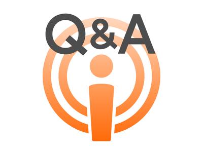 Podcast Q&A Icon podcast icon