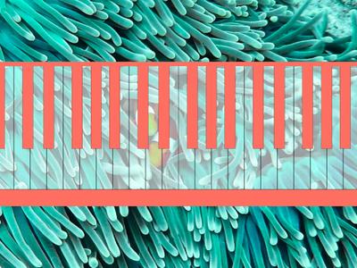 Living Coral Keyboard