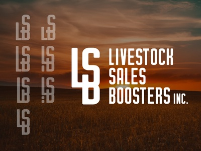 Livestock Sales Boosters Inc. cattle brand logo